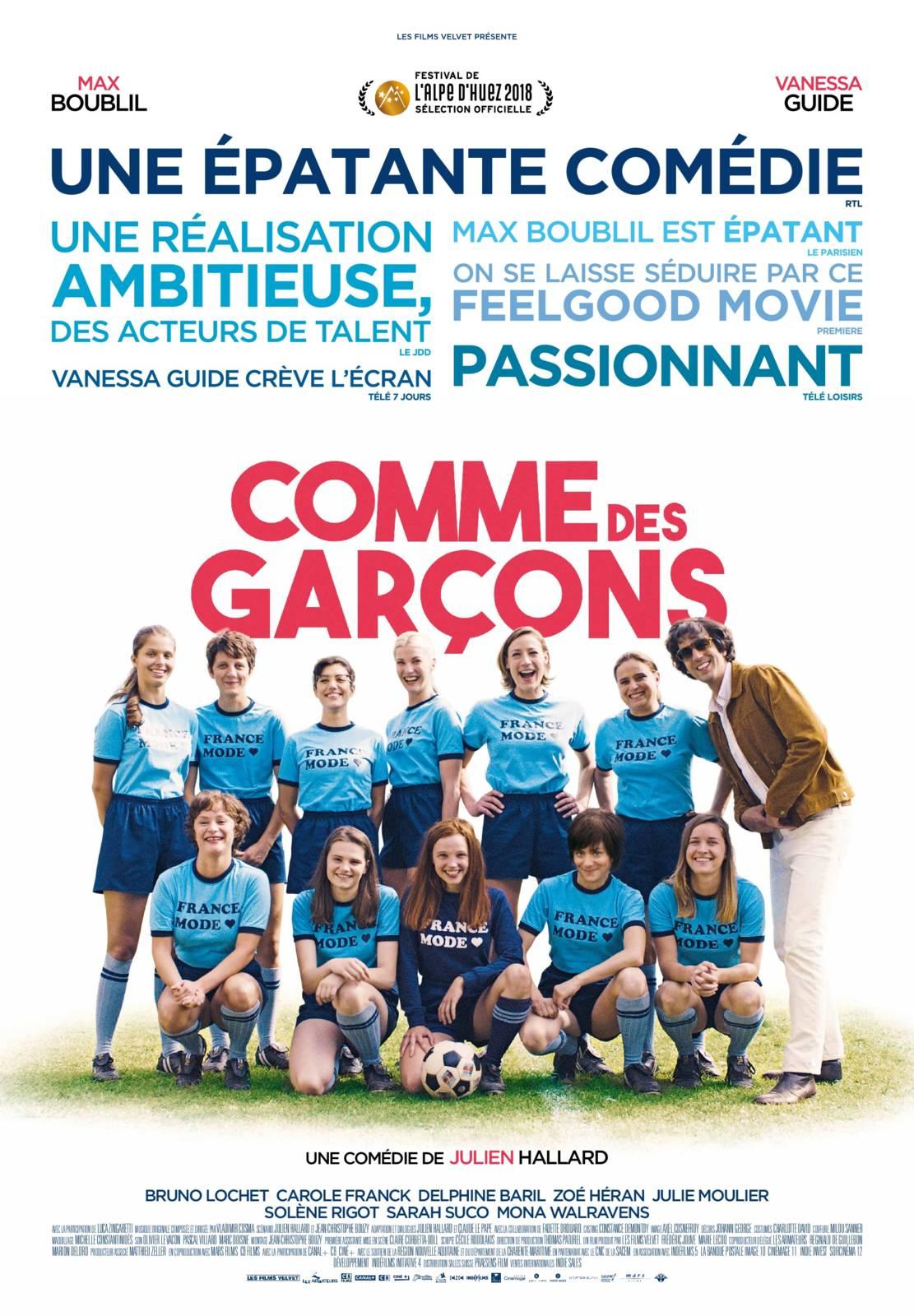 Ciné Club: Comme des Garçons (FR 2018)