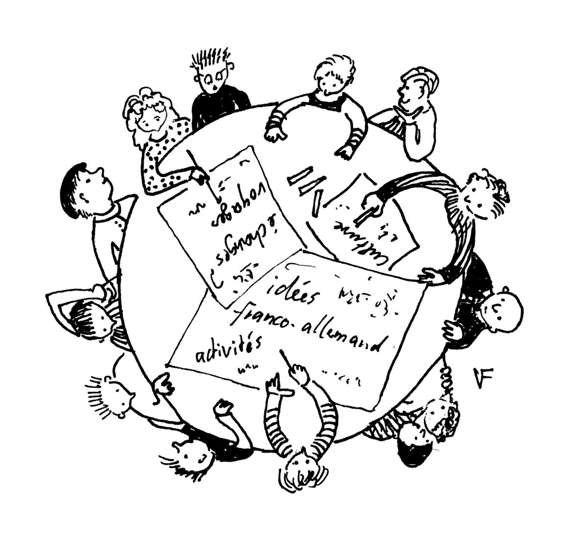 """Table Ronde spéciale - édition """"101 idées pour l'amititié franco-allemande"""""""