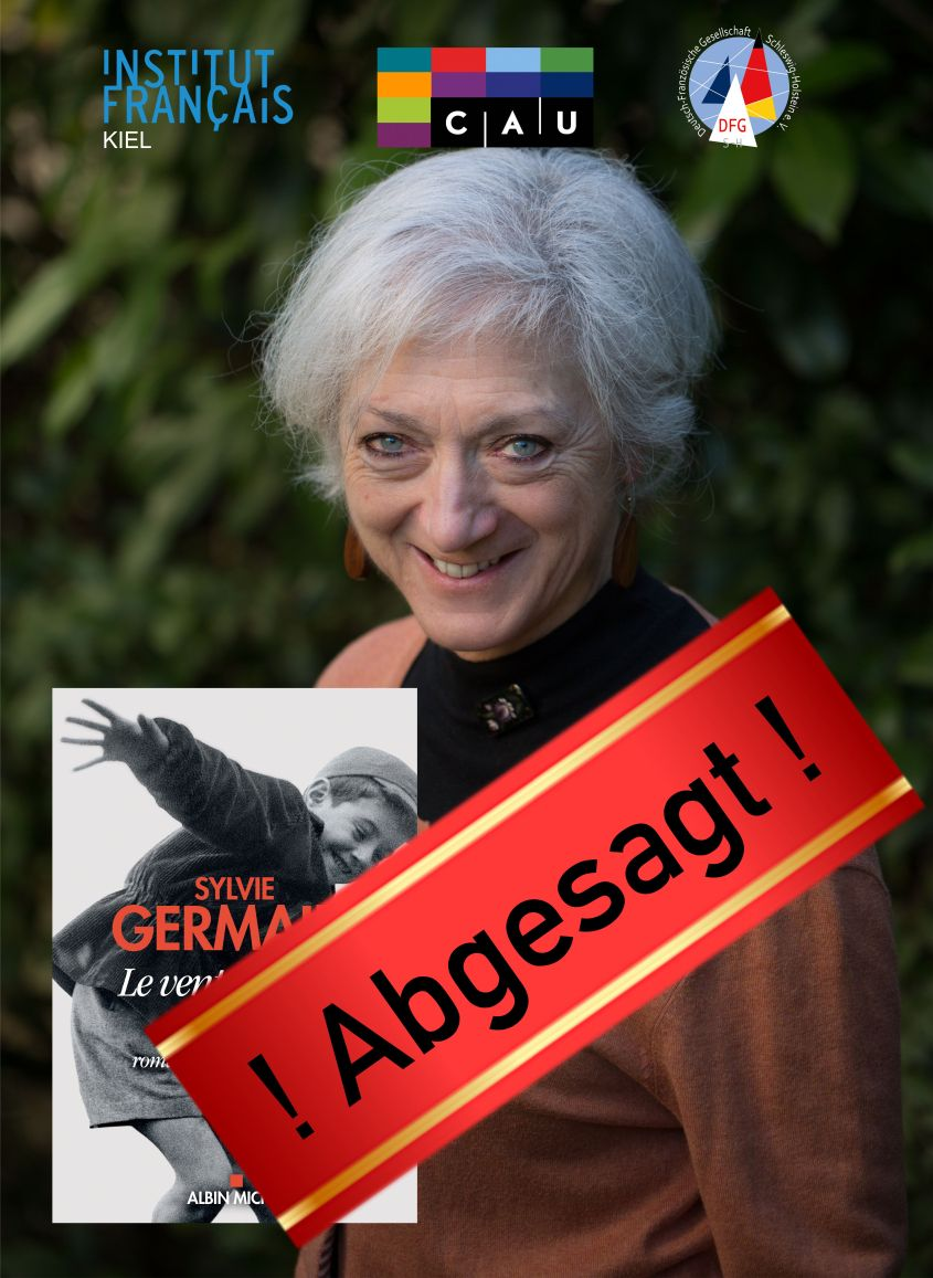 ! Abgesagt ! Kieler-Woche-Lesung: Sylvie Germain