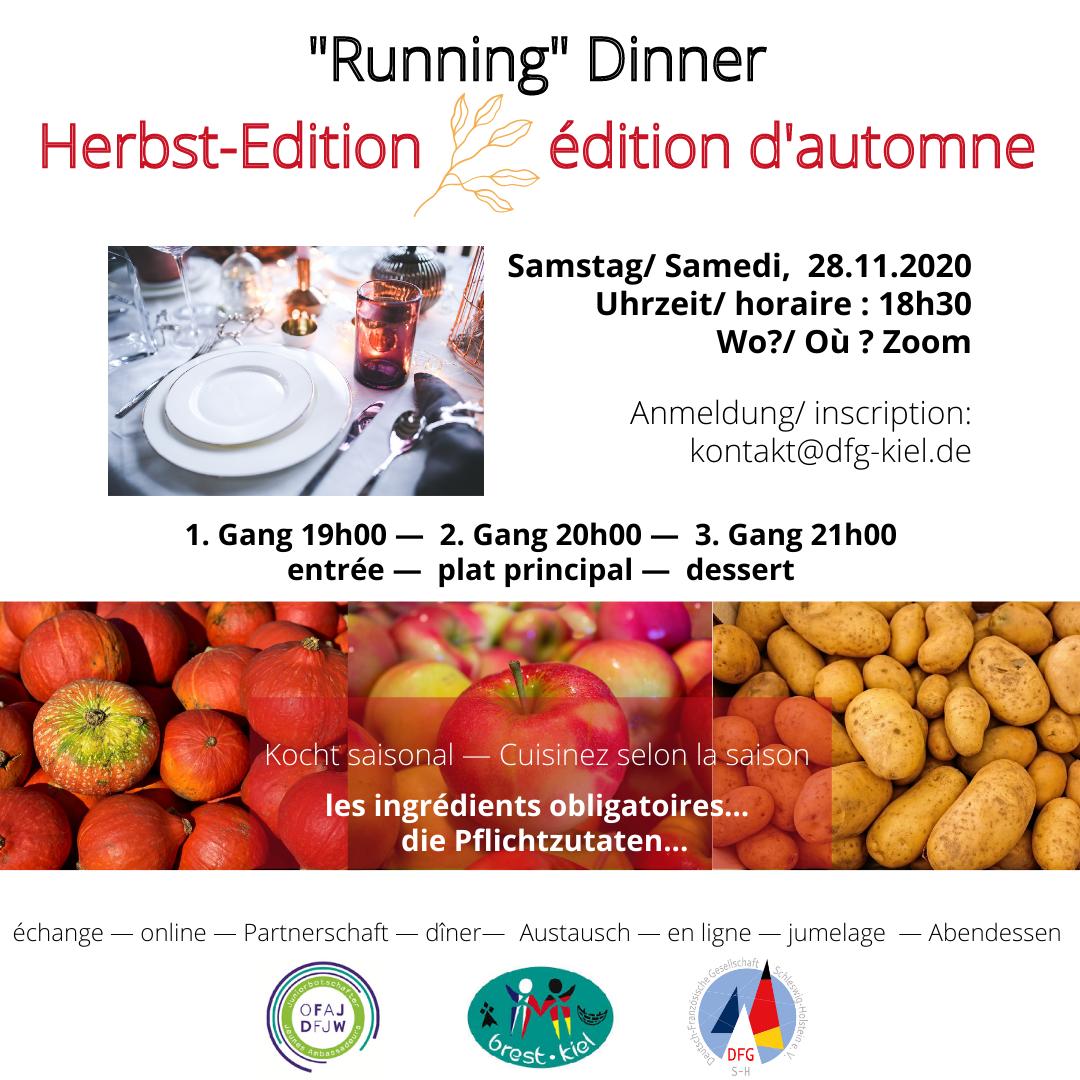Running Dinner Kiel-Brest (Herbstedition)