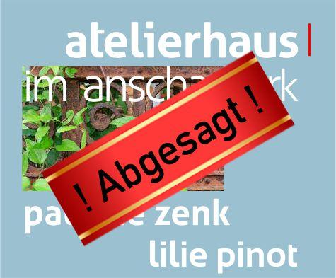"! Abgesagt ! Ausstellung Pinot/Zenk: ""Lichtung"" (""Sur la nécessité de l'oubli"")"